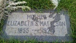 "Elizabeth Ann ""Betsy"" <I>Smith</I> Matteson"