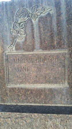 Miriam <I>Howard</I> Park