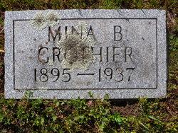 Mina B. Grothier