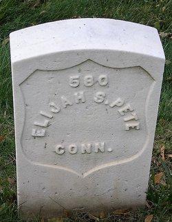 Pvt Elijah S. Pete