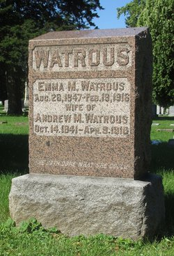 Andrew M Watrous