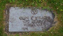 Olin Vanburen Wilson