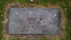 Mary G. <I>Weekley</I> Wilson