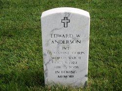 Edward W Anderson