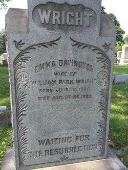 Emma Bavington Wright