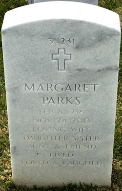 Margaret <I>Parks</I> Schu