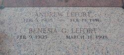 """Andrew Joseph """"Pyier"""" Lefort, Sr"""