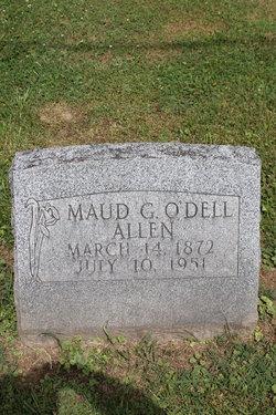 Maud Geneva <I>O'Dell</I> Allen