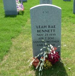 Leah Rae <I>Poss</I> Bennett