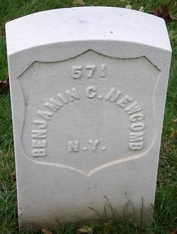 Pvt Benjamin C. Newcomb