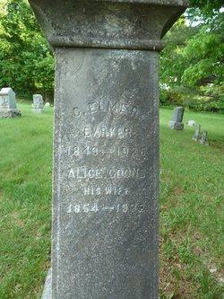 Alice Louisa <I>Coons</I> Barker