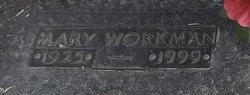 Mary <I>Workman</I> Starnes