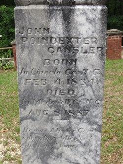 1LT John Poindexter Cansler