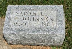 Sarah L. <I>Snyder</I> Johnson