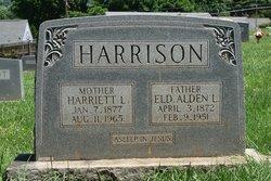 Harriet <I>Lawrence</I> Harrison