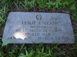 Dr Leslie Errol Dean