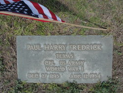 Paul Harry Fredrick
