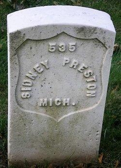 Pvt Sidney Preston