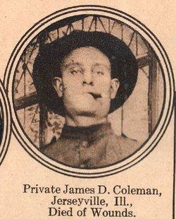 Pvt James D. Coleman