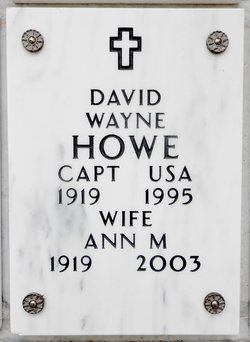 Ann M <I>Kennedy</I> Howe