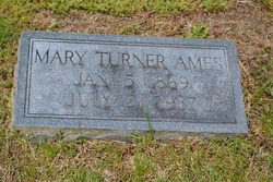 Mary <I>Turner</I> Ames