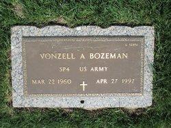 Vonzell A Bozeman