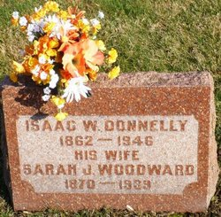 "Sarah Jane ""Jennie"" <I>Woodward</I> Donnelly"