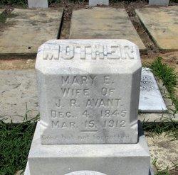 Mary Eliza <I>Cherry</I> Avant
