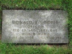 Donald B Cooper