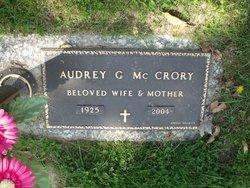 Audrey Gail <I>Hall</I> McCrory