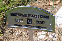 Anna <I>Brubaker</I> Martin