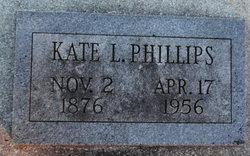 Kate L. <I>Moore</I> Phillips