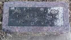 David Ernest Wilcox