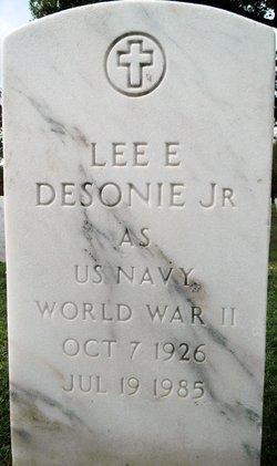 Lee E Desonie, Jr