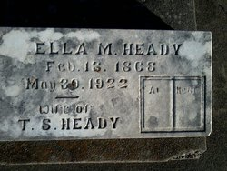 Ella May <I>Spradling</I> Heady