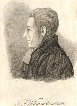 Rev William Emerson
