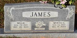 Myrtis Grace <I>Terral</I> James
