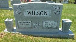 Thelma Gray <I>Persinger</I> Wilson