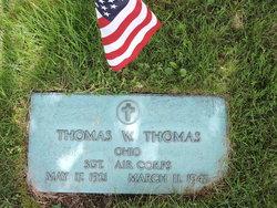 Sgt Thomas W Thomas
