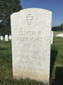 Elmer F Albright