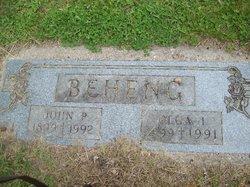 Olga Ilene <I>Arvidson</I> Beheng