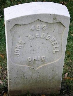 Pvt John McDowell
