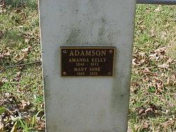 Amanda <I>Kelly</I> Adamson