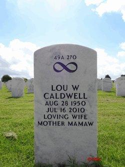 Lou <I>Walters</I> Caldwell