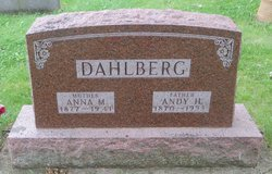 """Andrew H. """"Andy"""" Dahlberg"""