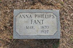Anna <I>Phillips</I> Fant