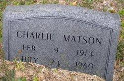 Charlie Matson, Jr