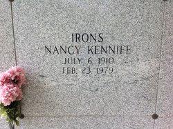 Nancy <I>Keniff</I> Irons