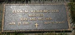 Elva Mae Weidemoyer