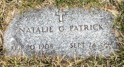 """Natalie Julia """"Nettie"""" <I>Grace</I> Patrick"""